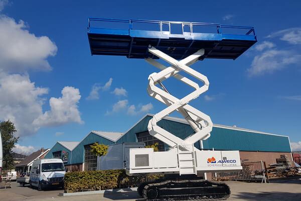 Schermmachine 8 meter